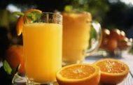 عمل عصير البرتقال واليمون