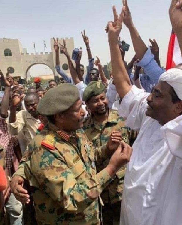 السودان :يعلن انتهاء سيطرة القوات المسلحة علي كل وحدات هيئة العمليات