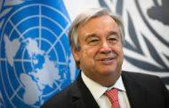 أنطونيو غوتيريش :لا يمكن تحقيق السلام إلا إذا اتُخذت إجراءات ملموسة لمكافحة تغير المناخ