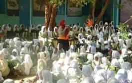 شرطة حماية الاسرة والطفل تنظم حملة توعية بالمدارس