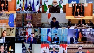 زعماء مجموعة العشرين واثقون من التغلب على أزمة كورونا