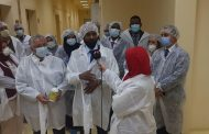 وزير الثروة الحيوانية السوداني يزور معهد بحوث الصحة الحيوانية واللقاحات بمصر